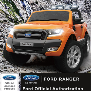 licensed Ford Ranger 4x4 2 seats jeep 12 Volt ride on kids electric car with remote control