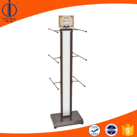 popular new metal clothes stand display rack garment shelf for promoting advertising