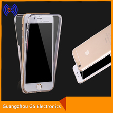 Front And Back Full Protective Two Pieces TPU Clear Case For Iphone 6S 6S Plus