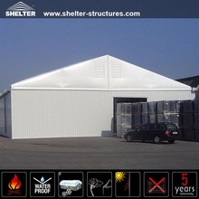 30x65m Outdoor A Shape Aluminum PVC Fabric Structure Used Industrial Car Motorcycle Storage Tents Sheds Sale
