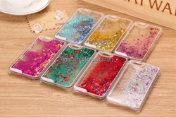 wholesale price color optional Bling glitter phone case for samsunggalaxy s6