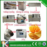 semi and full automatic potato chips making machine for sale