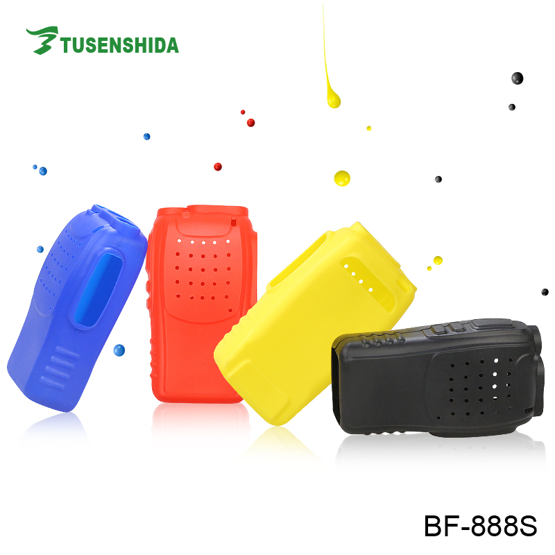Carry rubber case for two way radio baofeng 888s