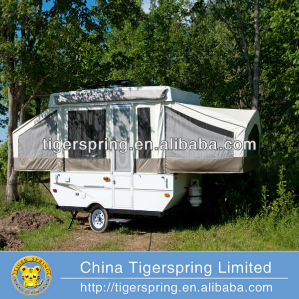 Customized 3-4 person camper trailer tent