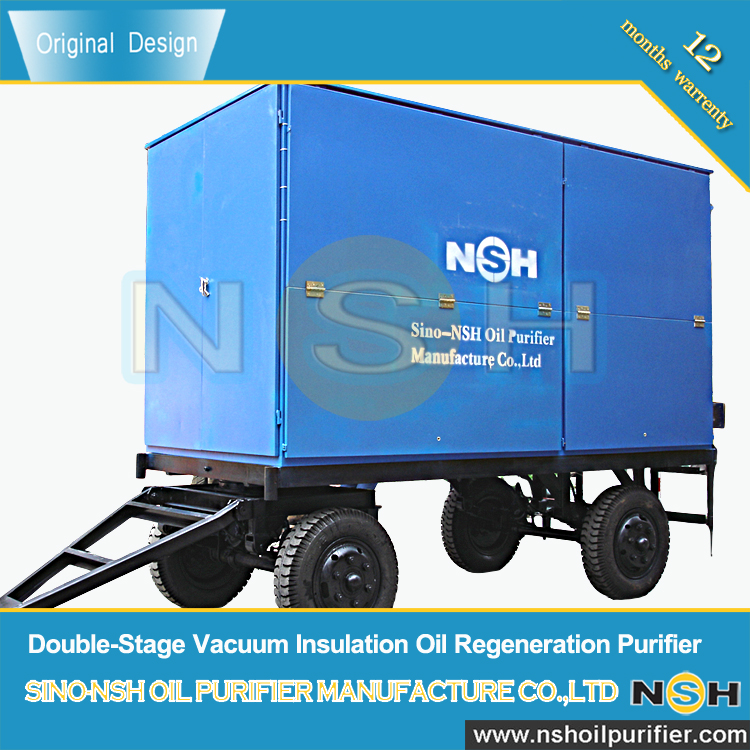 NSH Double-Stage Vacuum Insulation Oil Refeneration Purifier