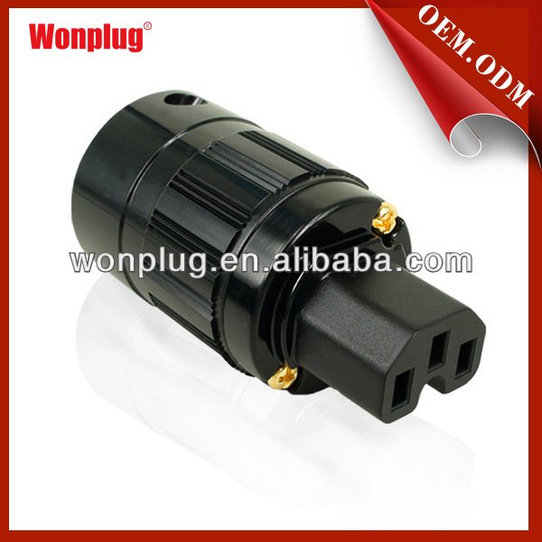 China Supplielr Promotional HiFi Audio Power Plug