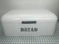 Colorful powder coated metal Bread bin