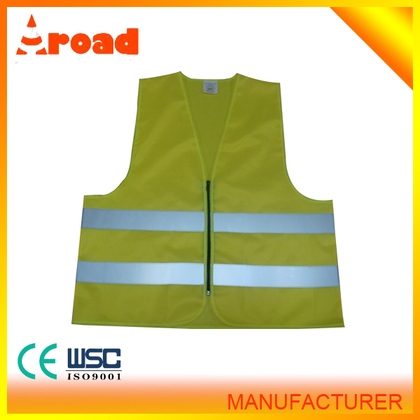 Black reflective vest high visibility reflective jacket belt article printing neon jacket reflective clothing
