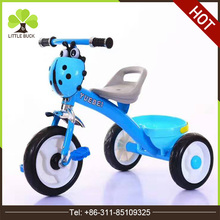 Factory Stock baby dreirad Triciclos Tricycle Wholesale Popular kids rickshaw rubber wheels kids tricycle with CE bicycle traile