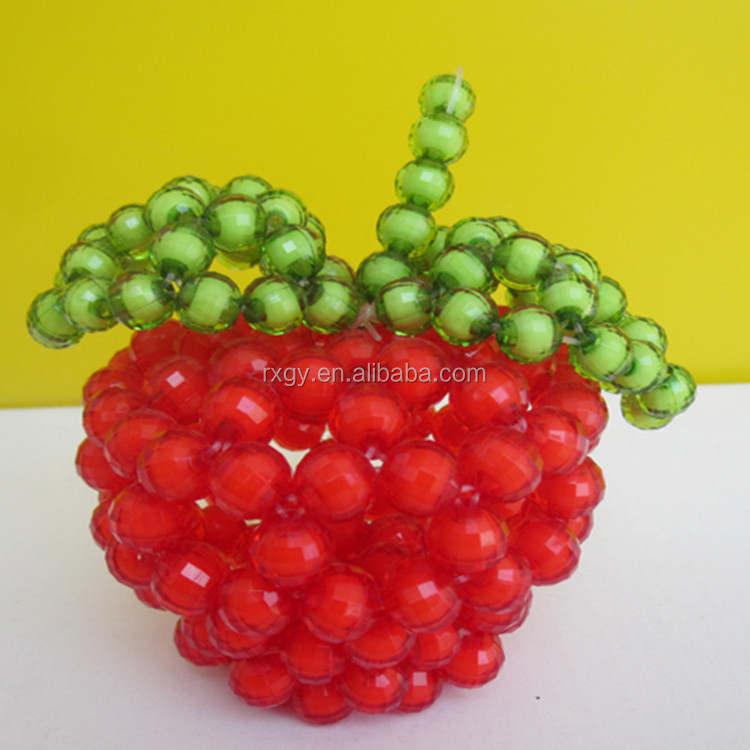DIY beaded Safe fruit Crafts DIY Handmade Material package
