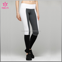 Wholesale Nylon Spandex Capri Yoga Leggings Athletic Wear For Ladies