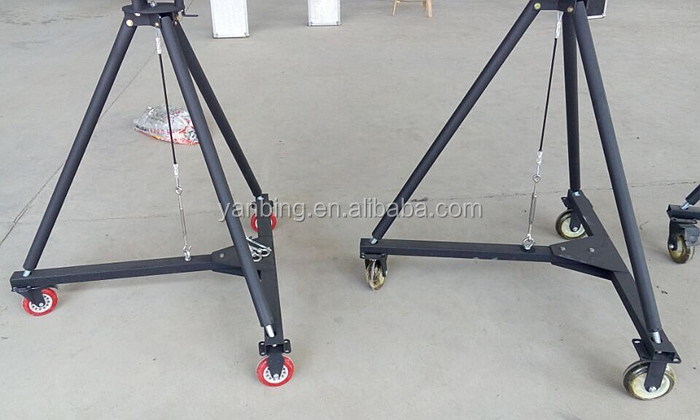 Camera accessories manufacturer 8m video jimmy jib camera crane for filming