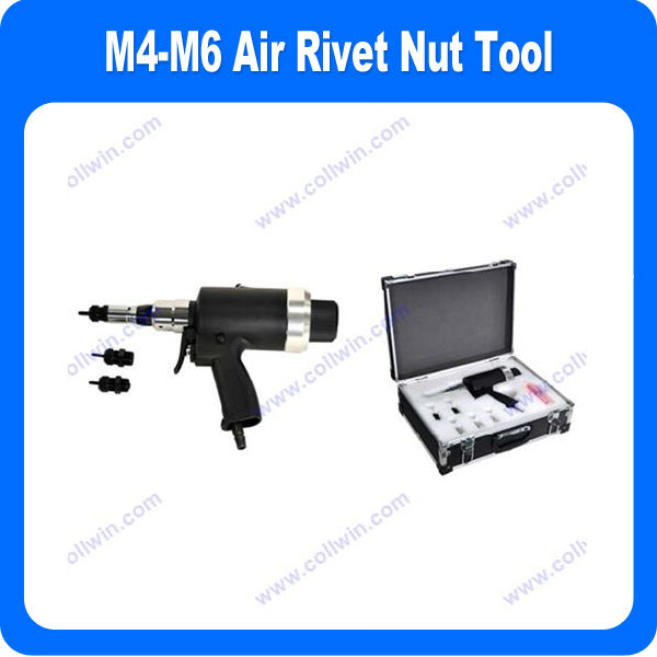 M4-M6 Pneumatic Rivet Nut Tool (One-step trigger Operation)