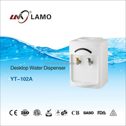 China New Plastic Room Normal Temperature Desktop Personal Mini Water Cooler Dispenser YL-102A