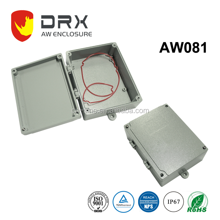 IP67 OUTDOOR sealed Waterproof dustyproof Aluminum Enclosures junction box for Electronics