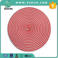 Round PET and PP Table Place Mat