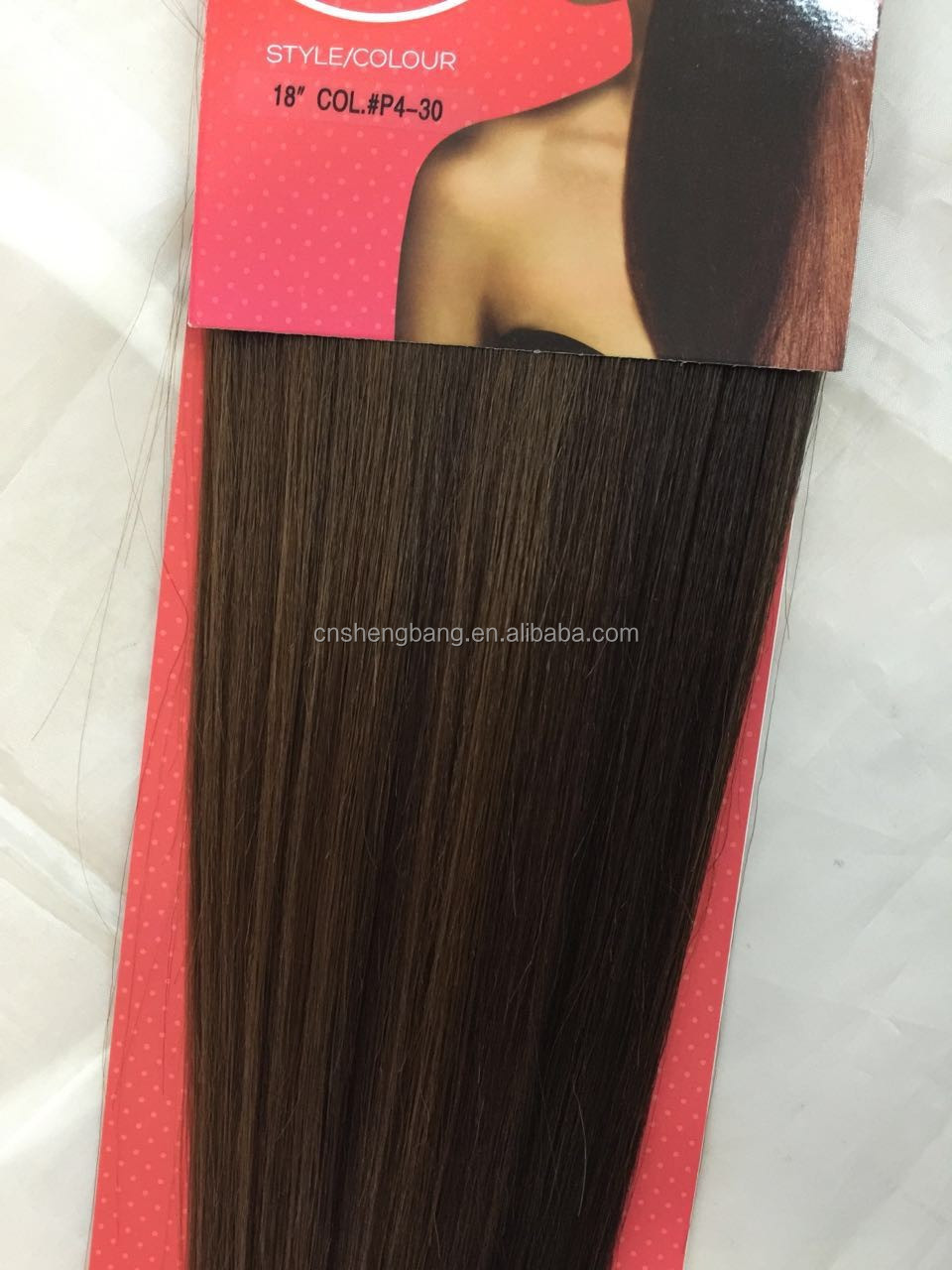 The Look Gold 22 Synthetic hair weft 14inch-22inch,color 613# 4/27,4/30,24/613,99J,530# synthetic hair extensions