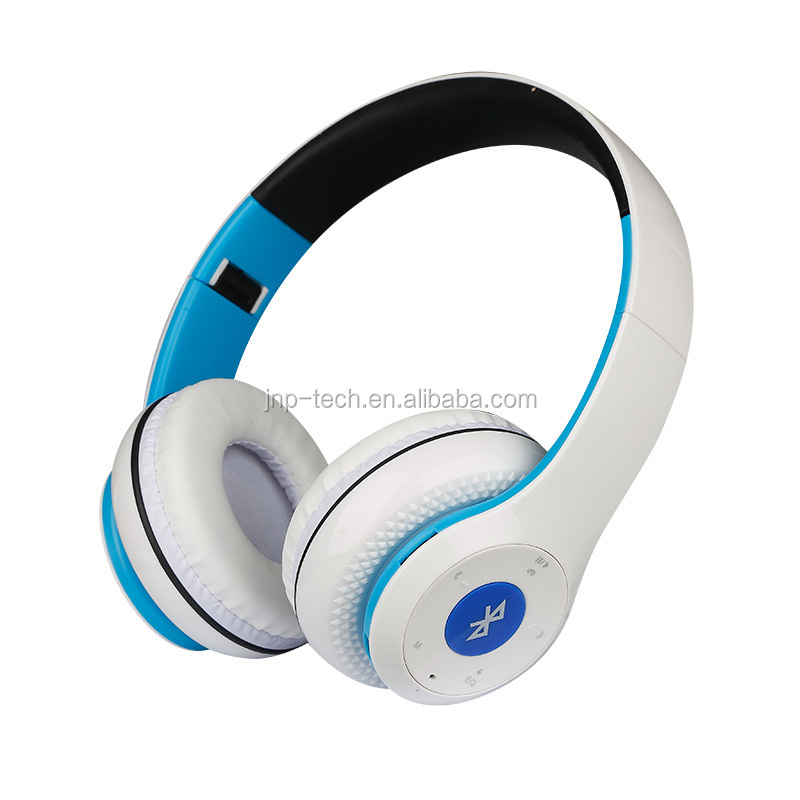 Fashion multi-color Wireless BT Headphone foldable headset