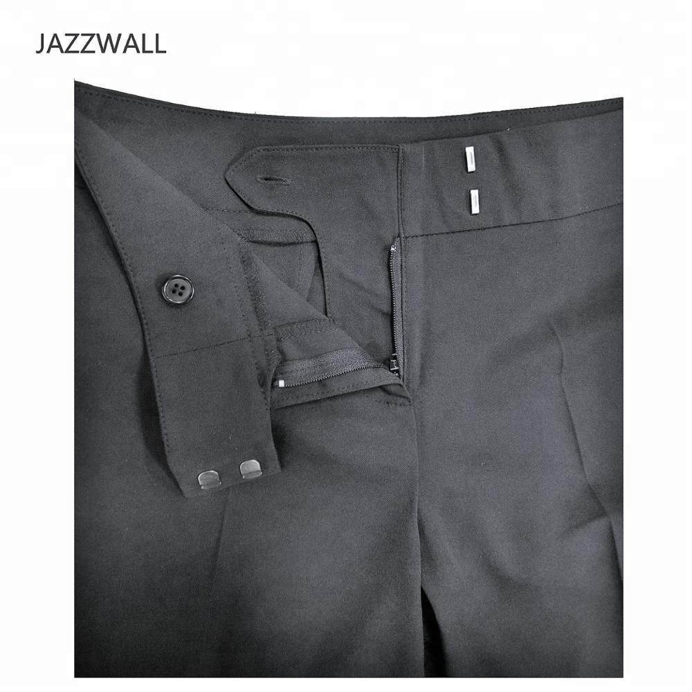 Office Lady Black Formal Pants Celana Chino Wool Suppliers And Manufacturers At