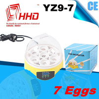 Best quality cheap mini egg incubator for chickens for sale YZ9-7 wholesale educational toys