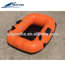 GTF140 Korea PVC and strengthen bottom Inflatable Mini Boats for kids