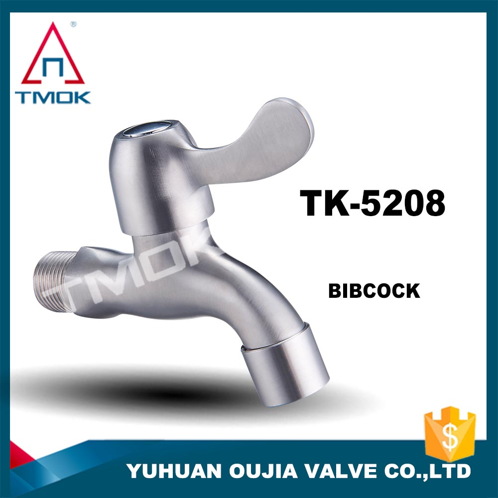 TMOK supplier stainless steel water container with tap Bsp thread domestic using /bathroom/home using