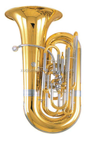XTA025 bB Key Tuba with Cupronickel Tuning Pipe