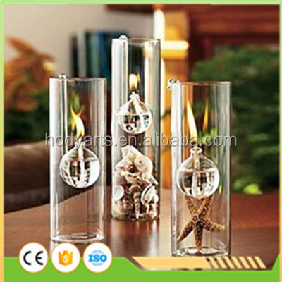 Wholesale New Design and High Quality Decorative Glass Oil Lamp