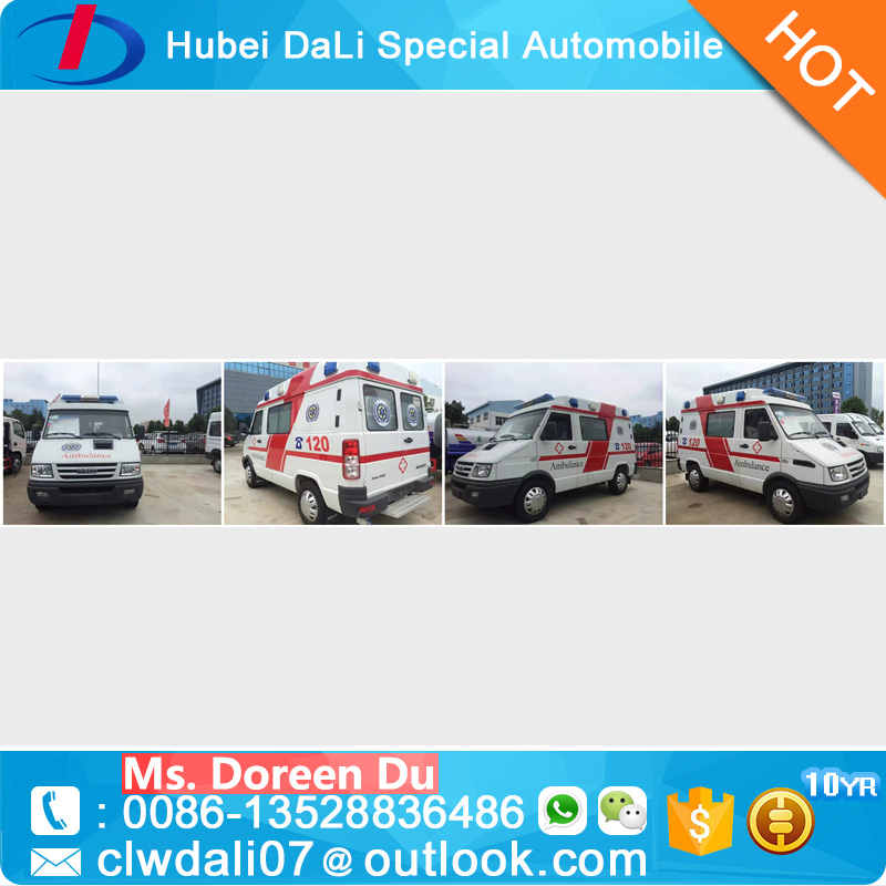 Minivan 9 Seats ICU Ambulance Car Price Ambulance Car For Sale