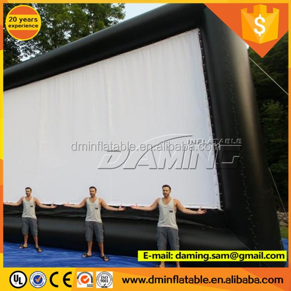 projection screen portable movie screen inflatable projector screen for outdoor event