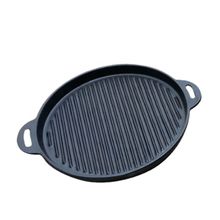 China Factory Camping Round Flat <strong>Plate</strong> Barbeque Teppanyaki Cooking Grill Pan