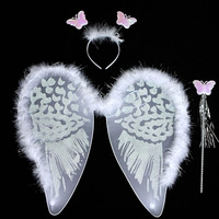 Wholesale butterfly angel wing and tutu for kids party decoration