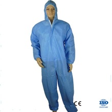 Custom Waterproof Disposable Non Woven Safety Coverall