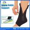 Free sample Ankle zip up compression support exercise training neoprene ankle brace