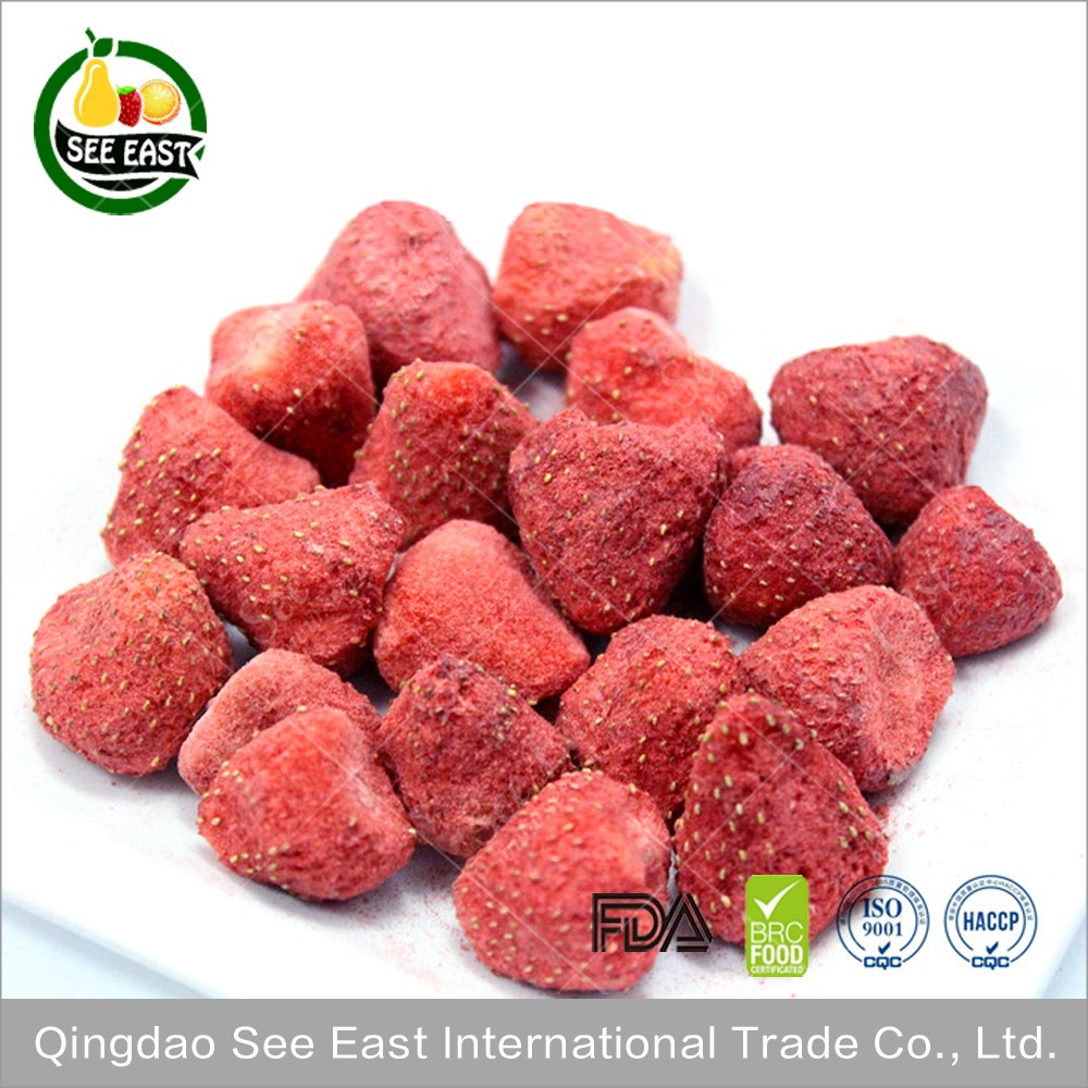 Import China Products FD Dried Fruits Freeze Dried Strawberry