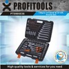 "138pcs 1/4""&3/8""&1/2"" high quality professional tool kit"
