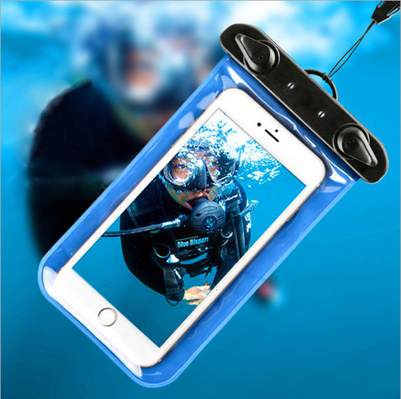 SD Mobile Phones PVC Water Proof Diving Bag/Portable Outdoor WaterProof Pouch Case With Strap/mobile telephone water(SD-WB-054)