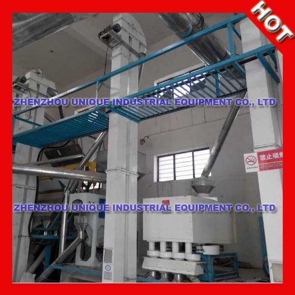 Complete 100T rice milling plant