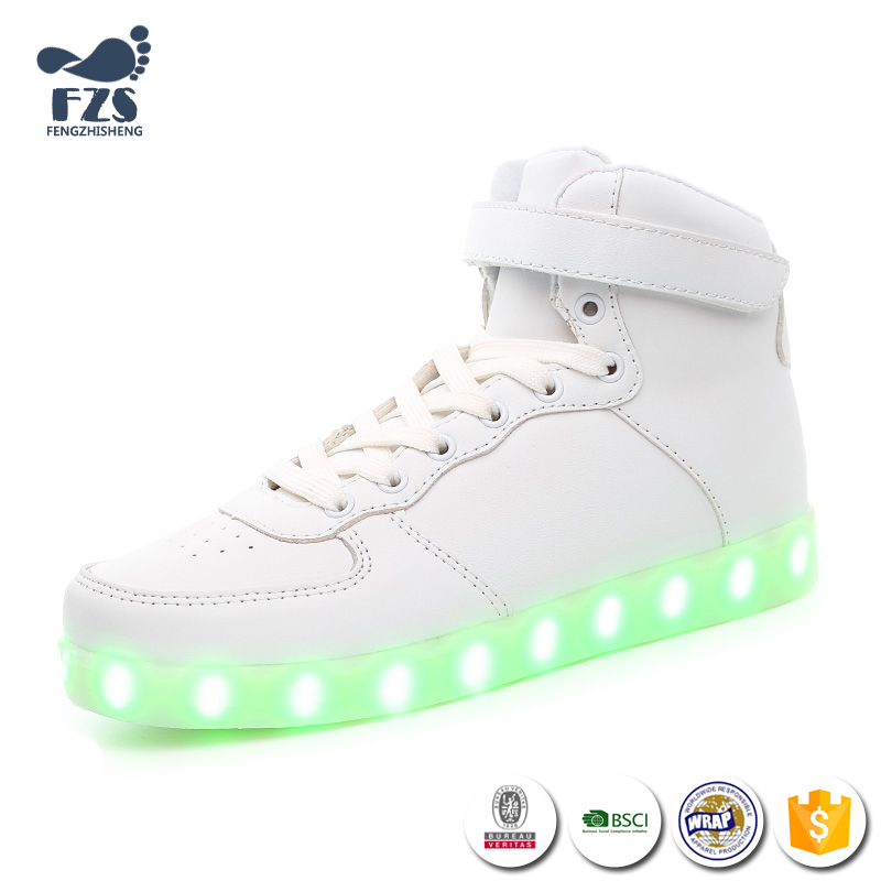 HFR-JS14 2016 bluetooth led light up dance shoes latest design flashing for couples