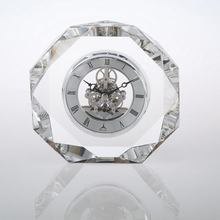 For Wedding Favor or Souvenir Gift Custom Crystal Table Clock