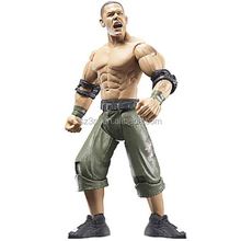 Factory price life-like pvc wrestling action figure/custom jointed plastic muscle man movable action figures suppliers