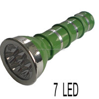 YuYao YaJian YJ-3206 green LED super capacity flashlight