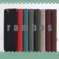 PU Leather Book Side Opening Flip Case Cover Mobile Phone Fundas for Sony Xperia Z3 Z2 Z1 Z C3 M2
