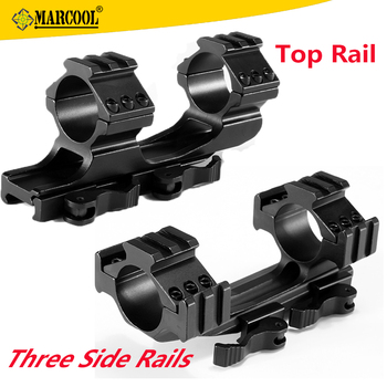 Marcool Top And Three Side Rail 25.4/30MM Tube Dia, 21MM Rails One Piece Scope Mount