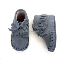 wholesale cheap best prewalker won spanish leather baby moccasins shoes