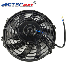 "Car cooling fan universal electric 9"" 24v 12v condenser car fan"
