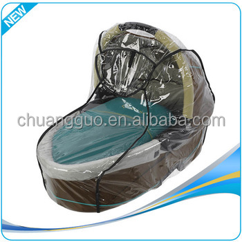 Hot Selling Transparent Pvc Umbrella Stroller Pushchair Waterproof Cover
