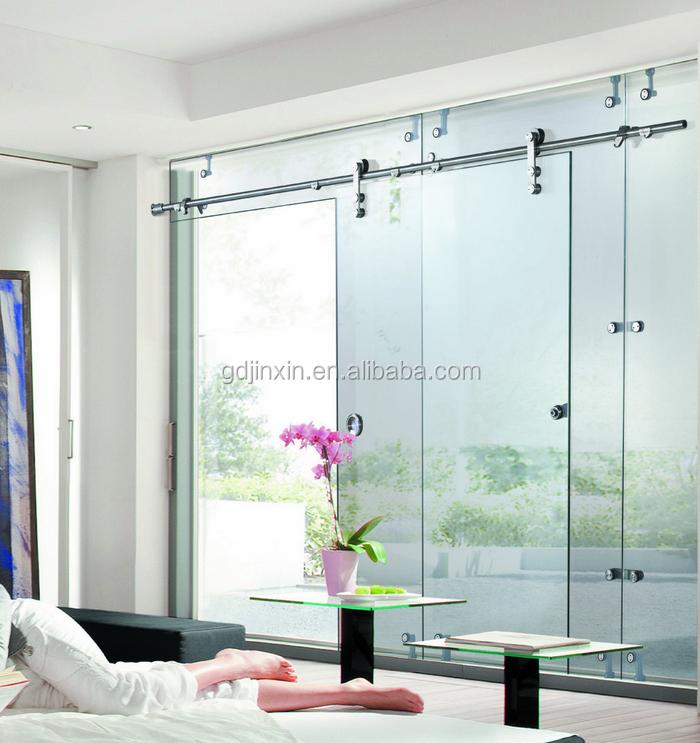 Jinxin glass shower doors sliding interior doors barn - Puertas de cristal correderas ...