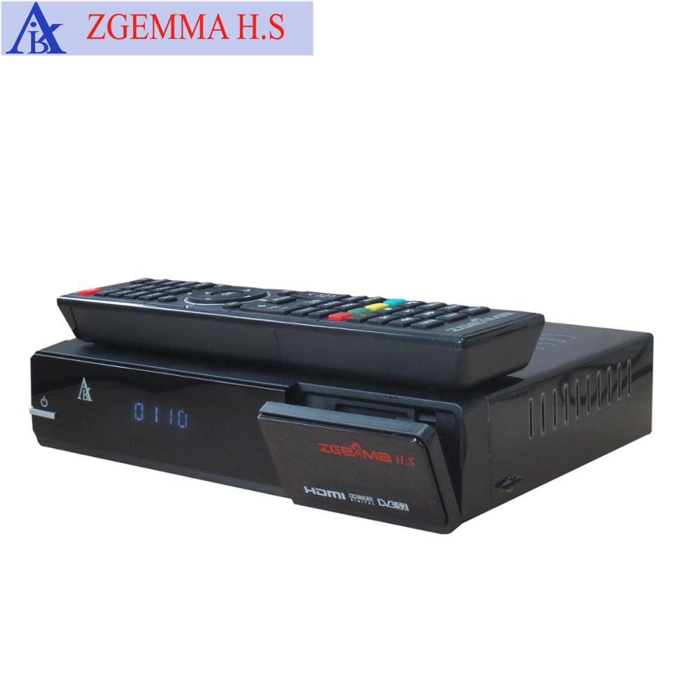 Mini HD Satellite Receiver with Wifi and Youtube supporting IPTV ZGEMMA H.S