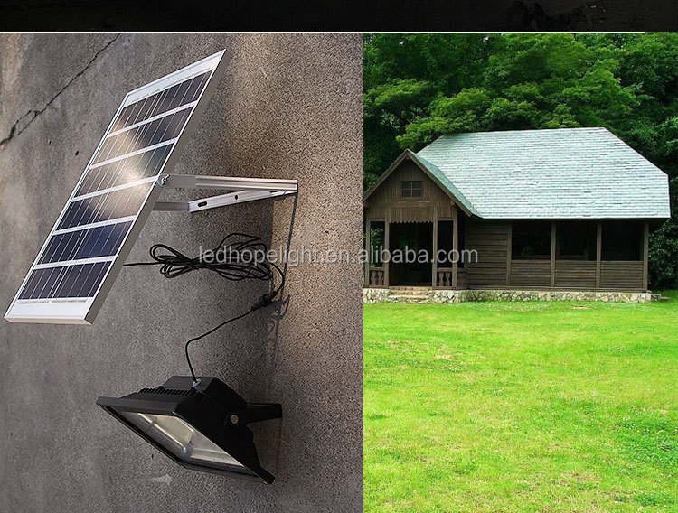 Saving energy Solar led light sensor floodlights outdoor led spotlights 10W 20W 30W 50W with remote controller